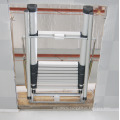 Loft ladder/Aluminum Extended Extending Folding Triple/3 Section garret attic Loft Ladder manufactured to EN 14975/SGS