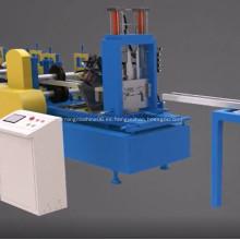 Máquina formadora de rodillos CZ purline Máquina perfiladora de rodillos CZ purline