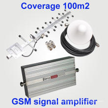 Neue Modell GSM 900 MHz 2g 27dBm Abdeckung 1000 sqm Mobile Signal Booster GSM Repeater
