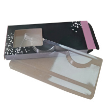 Wholesale Custom Black Mink Lash Tray Box
