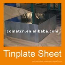 JISG3003 prime tinplate steel for metal box usage