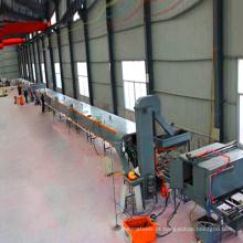 Telhas de telhado que fazem a máquina