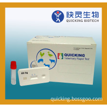 One Step Avian Influenza Virus Rapid Test Kit (ISO 9001 & 13485 certified)