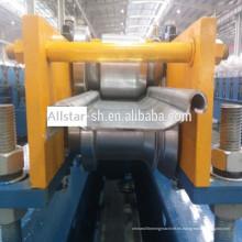 Acero prepintado curvo Color utiliza máquina formadora de rollos de persiana de rodillo