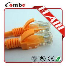 Cambo Лучшая цена Cat5e Cat6 ethernet cable 1m