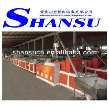 Máquina de extrusión de WPC para Decking Products(PVC/PE+wood powder)