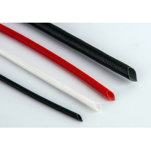 Flexibility Silicone Coated Braided Fiberglass Sleeve