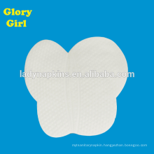 High quality personal care cotton armpit sweat pad