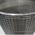 Sintered Mesh Filter Element With Performated Sheet