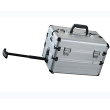 Silver Trolley Aluminium Case for Tools