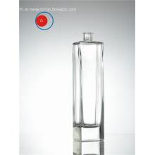 Venda quente transparente longa forma clara garrafa