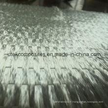 E Glass 500GSM Tissu unidirectionnel pour articles de sport