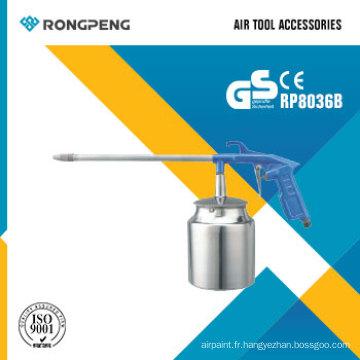 Accessoires d'outil d'air de pistolet de nettoyage de moteur d'air de Rongpeng R8036b