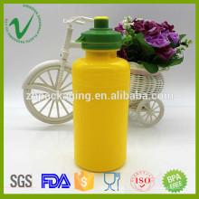 PP boca ancha hotfill cilindro vacío 400 ml botella de agua para niños con tapa