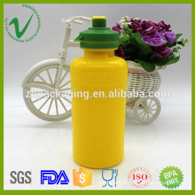 PP wide mouth hotfill cylinder empty 400ml kid water bottle with lid