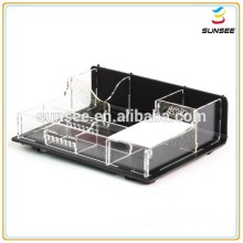 Factory direct supply popular deluxe design beautyful shape acrylic jewelry box for sale