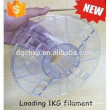 carrete vacío para el filamento de la impresora 3d sin interrupción