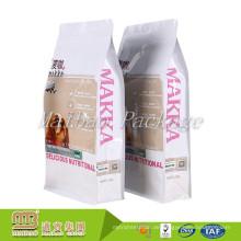 Benutzerdefinierte Farbe gedruckt laminiertes Material Ziplock Pet Food Verpackung Dogfood Taschen