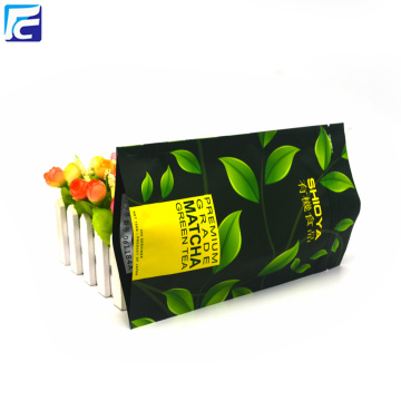 Plastic Ziplock Tea Packaging Pouch Bag