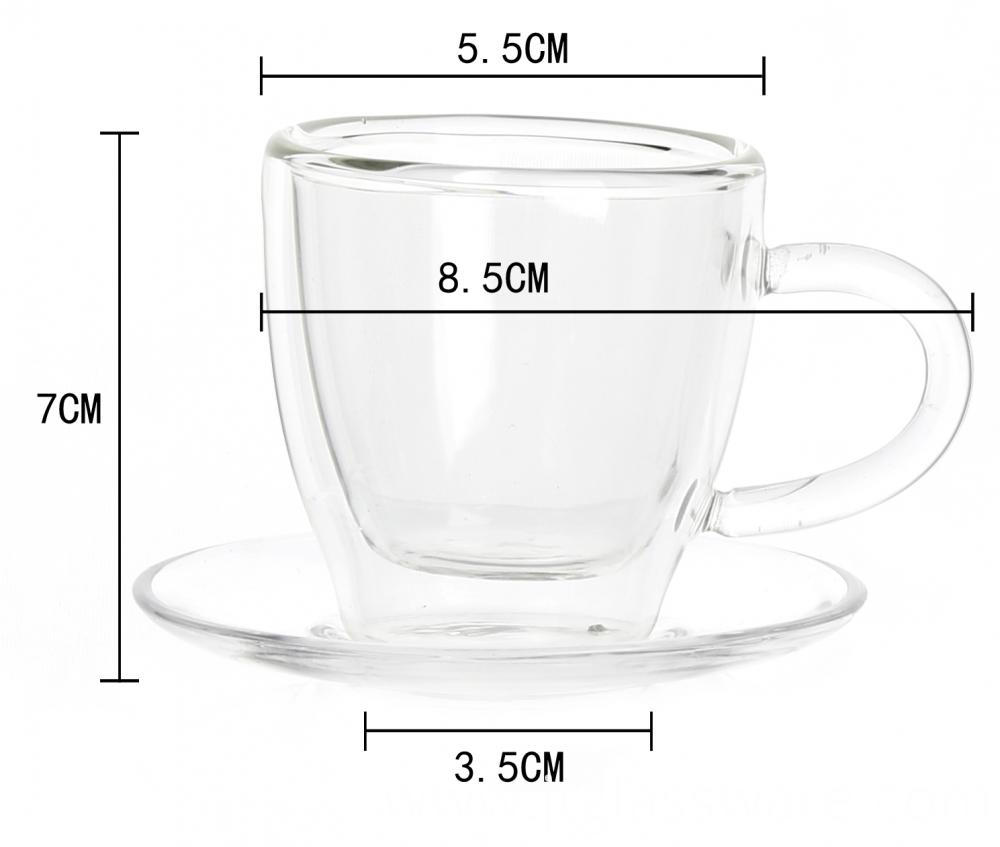 Clear Glass Coffee Mugs