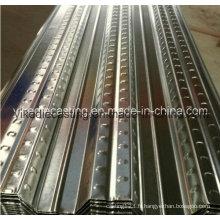 Feuille galvanisée de Decking de plancher en acier (YX51-240-720)