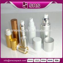 High End Skincare Tela Imprensa Loção Garrafa E 15ml 30ml 50ml 80ml Cosméticos Packaing Perfume Alumínio Garrafa