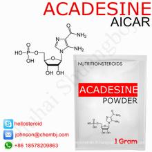 Stéroïdes anabolisant chauds de ventes Aicar / Acadesine 2627-69-2 traitement de maladies cardiovasculaires