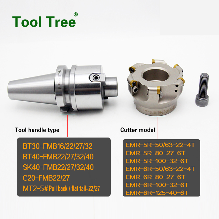 EMR round dowel face mill