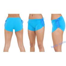 Alta qualidade personalizado esportes sexy girls compressão yoga shorts