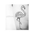 Kids Temporary Tattoo Body Art Flamingo Tattoo Sticker Waterproof
