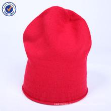 2015 Hot fashion hiver haut de gamme tricoté chapeau en cachemire naturel HWC014 cadeau de Noël chapeau femmes chapeau en gros
