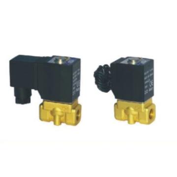 Válvulas de controle de fluidos 2 maneiras de solenóide de atuação direta de 2/2 vias