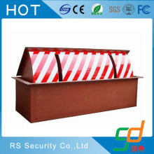 Retractable removable jalan tol hidrolik blocker