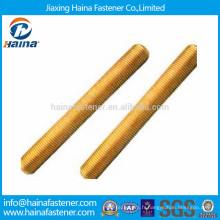 Tige filetée en laiton métrique fabriquée en Chine