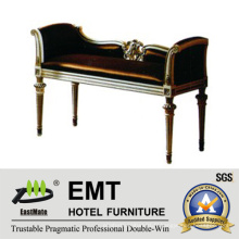 Meuble de chambre d'hôtel Tabouret de bout de lit (EMT-BS01)