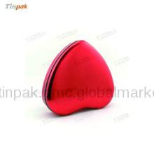 Dongguan heart shape tin boxes for 5 piece