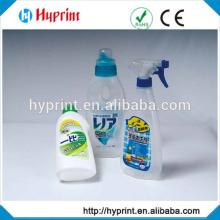Custom clear sticker for drink bottle