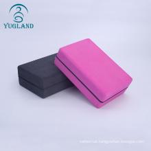 custom non slip fitness exercise printed yoga strap and block grey eva yoga block eva