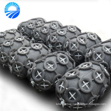 China Supplier Marine Floating Pneumatic Ykohama Type Fender with chain and tire net