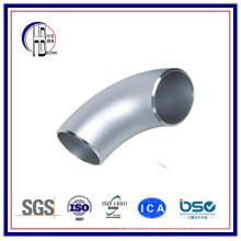 ASTM de aço inoxidável padrão A403 Wp347h cotovelo de 90 graus