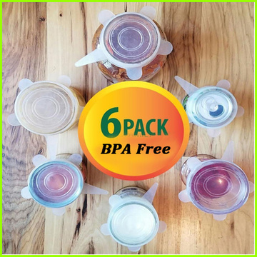 Heat Resistant Wholesale Silicone Lid Cover Set