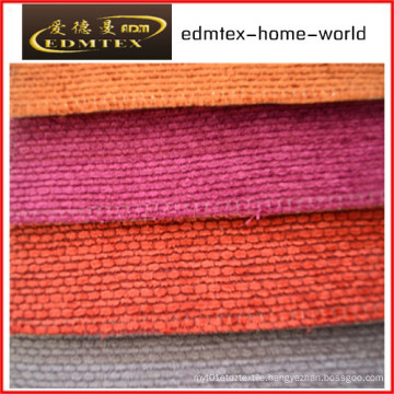 Plain Chenille Fabric for Sofa Packing in Rolls (EDM0229)