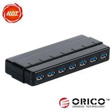7ports de USB3.0 HUB con alta velocidad