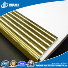 Brass Anti Slip Laminate Stair Treads for Edge Protection