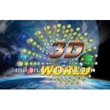 Tarjetas de presentación 3D promocionales