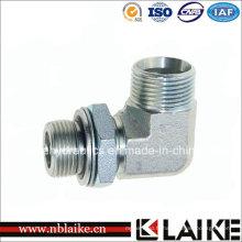 (1CG9) Adaptateur de tuyau hydraulique à haute pression de coude Bsp Thead