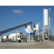 Dry Mix Concrete Batching Plant Mixer