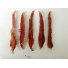 Salud deshidratada Duck jerky strip for dog