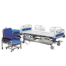 Cama elétrica do hospital ICU da multi função ajustável do corrimão 3 do ABS da alta qualidade do uso