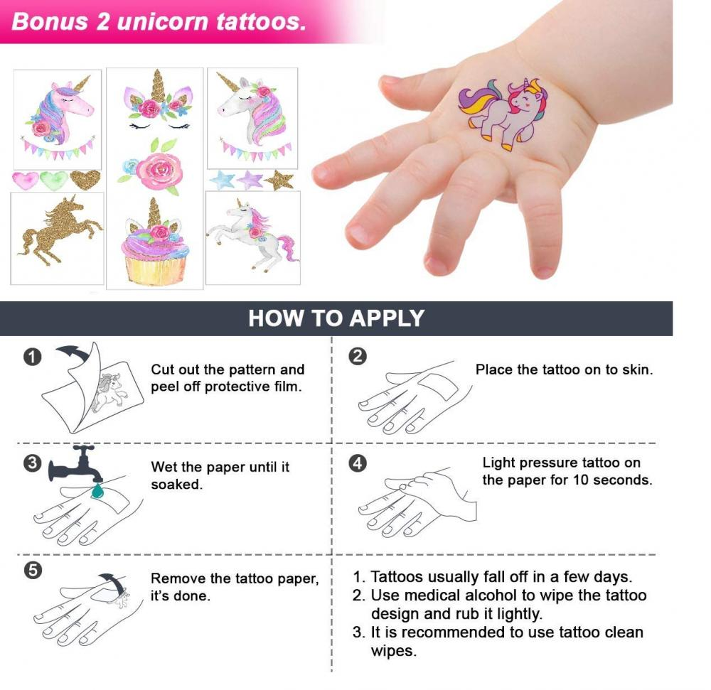 Unicorn Theme Party Favor Set 3